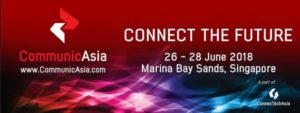 PlumSpace will attend in CommunicAsia 2018